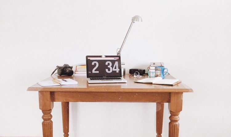 desk, work at home, home office
