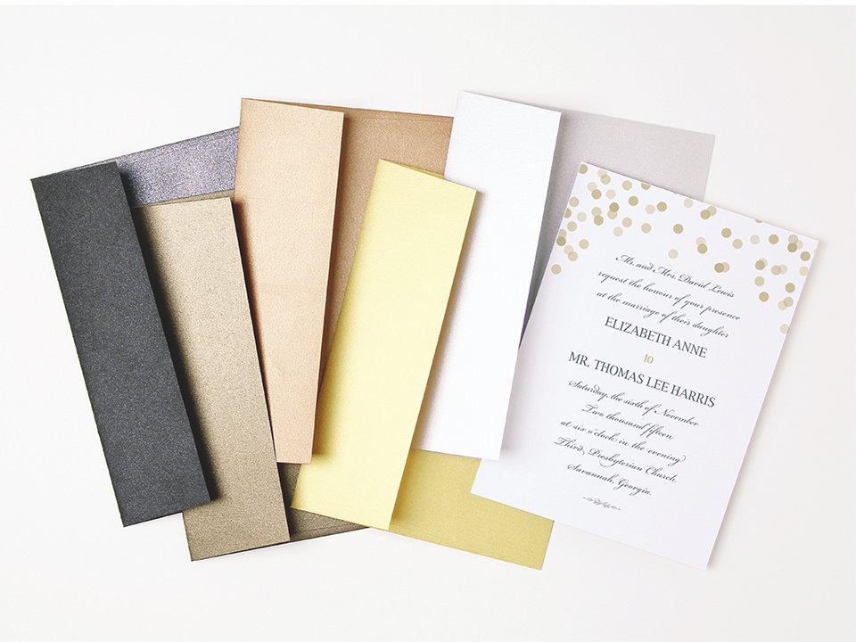 foil metallic envelope