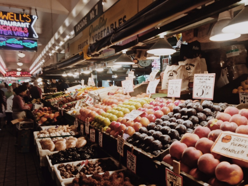 pikes place fruit stand