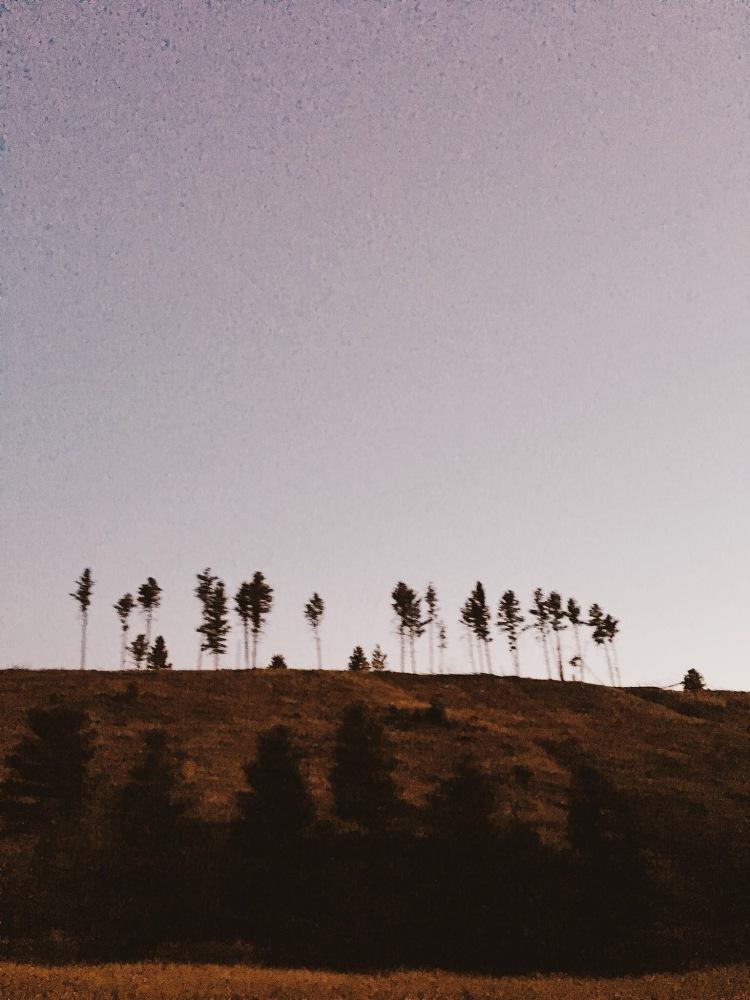 idaho autumn sunset