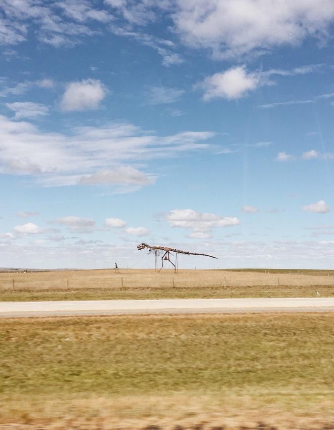 south dakota dinosaur
